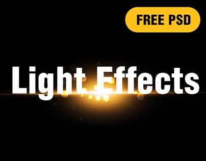Free Light Effects PSD