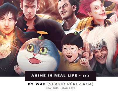 Anime In Real Life Version 1