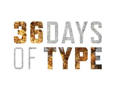 36 Days of Type 2019