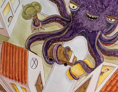 Pulpo Malvado | Evil Octopus