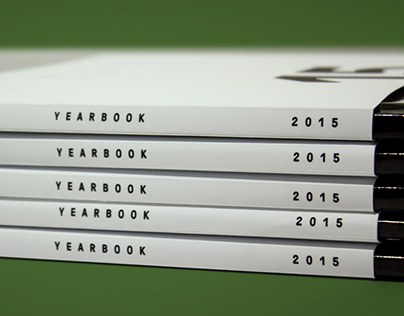 2015 UNT Graphic Design Yearbook