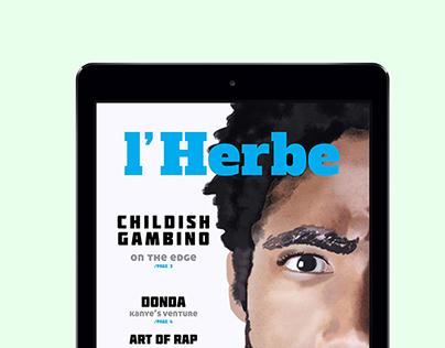 L'Herbe Interactive Magazine - SPD