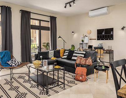 Cairoom - Mivida Apartment Hospitality Photography