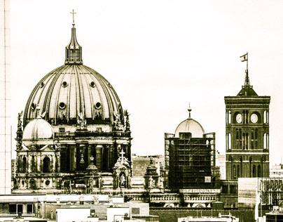 "Wallpaper ""Skyline Berlin"""
