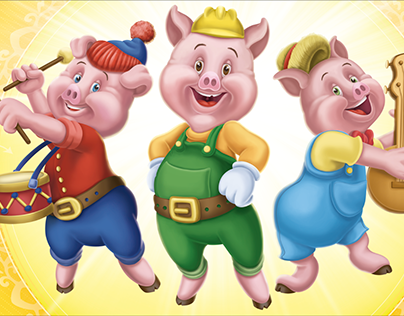 Three Little Pigs is an animated short film released on May 27 1933 by United Artists produced by Walt Disney and directed by Burt Gillett Based on a fable of the