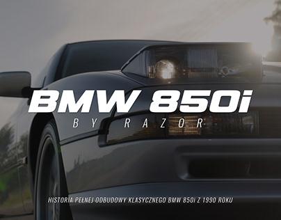 BMW 850i by Razor