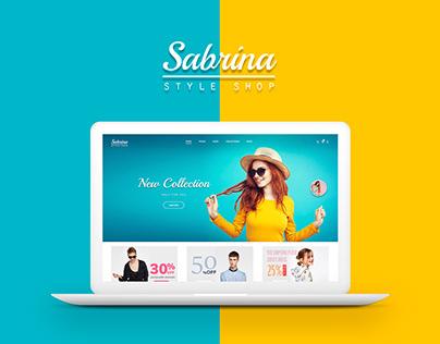 Sabrina - Online Shop