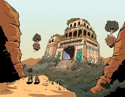 Reliquest (12 page comic) Full Color