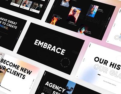 Creative Blur Gradient PowerPoint Template