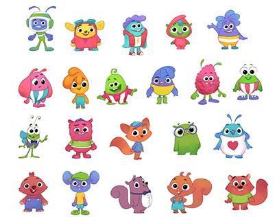 Mascot concepts