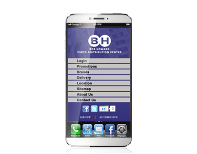Bob Howard PDC mobile application