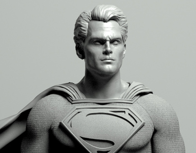 Man of Steel Sculpt