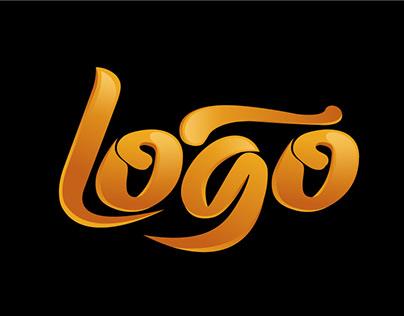 logo creator Flat Minimalist Brand packaged