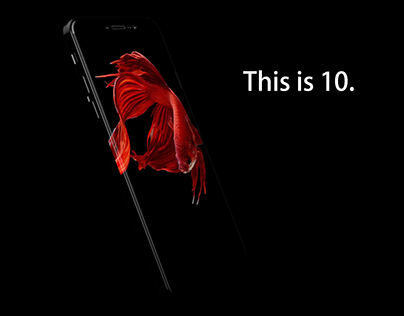 10th iPhone Anniversary Concept with Curved Display
