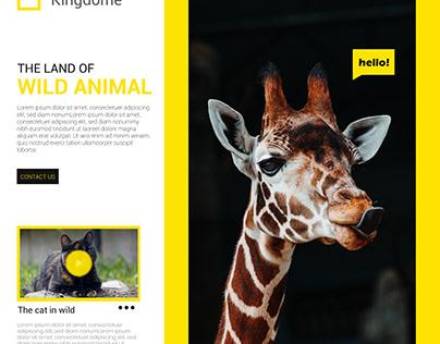 Wild Life Social Media Post Design Template
