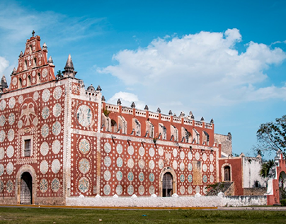 iglesia Uayma Mérida Yucatán