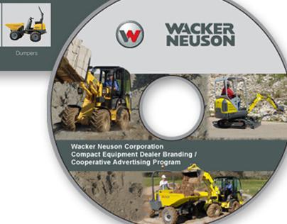 Wacker Neuson Corporation Dealer Branding CD/DVD