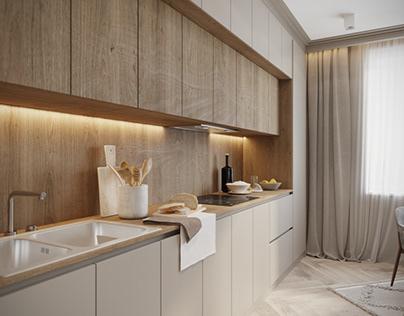 Kitchen design and vizualization