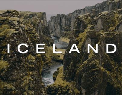 Visit Iceland - Travel Website