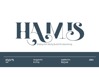 HAMIS font