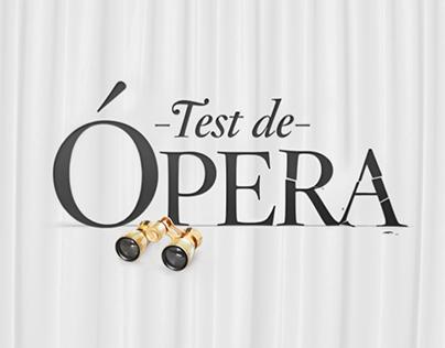 Test de Ópera // Bancolombia - Teatro Mayor