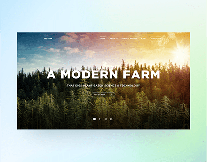 CBD Farm Website