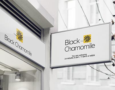 """Black Chamomile"" brand identity"