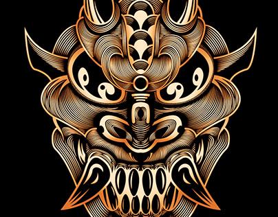 Hannya - Japanese Demon Mask