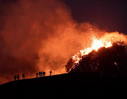 Geldingadalsgos - Geldingadalur Eruption