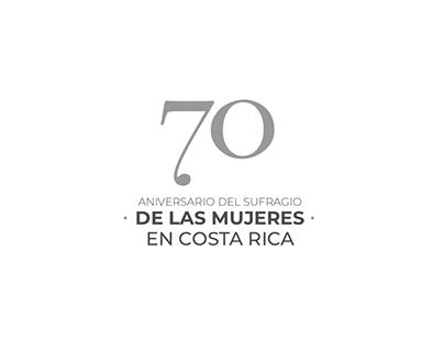 70 Aniversario Sufragio Femenino - PNUD /INAMU