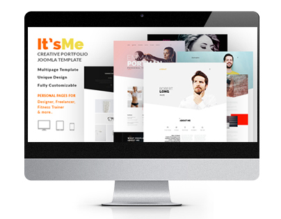 It's Me - Creative Personal Portfolio or Agency Respons
