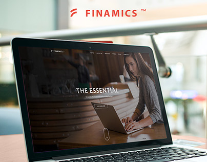 Finamics | One Page Template