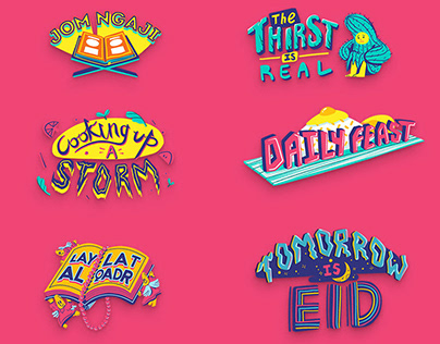 Ramadan Stickers for Snapchat - Malaysia Culture