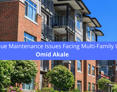 Omid Akale Explores Unique Maintenance Issues Facing
