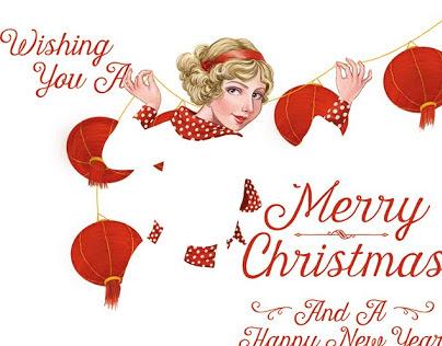 Fadeaway Christmas Cards