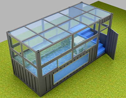 Container Swimming Pool Design 1