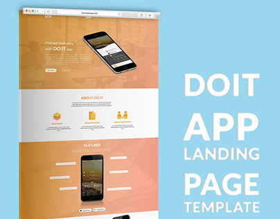 TO DO LIST APP LANDING PAGE