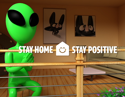 STAY HOME, STAY POSITIVE