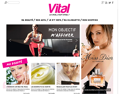 VITAL // women's magazine
