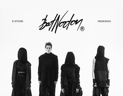 Bat Norton — E-Store redesign