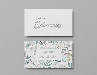 Odorantes Business Card