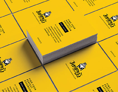 Business card design | Jimmy's Experience Tours