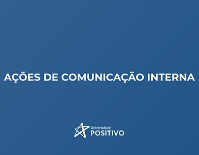Ações de Comunicação Interna   Universidade Positivo