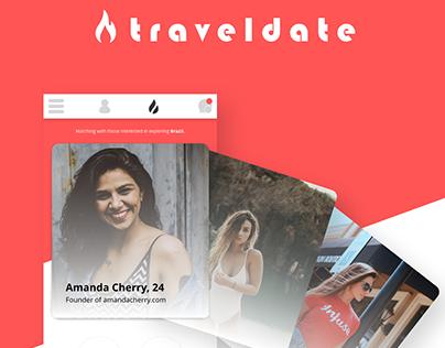 Traveldate (Mobile UX/UI)