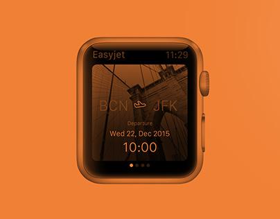 Easyjet - Apple Watch App concept