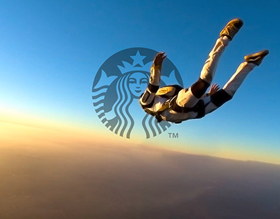 Starbucks Skydive Storyboards