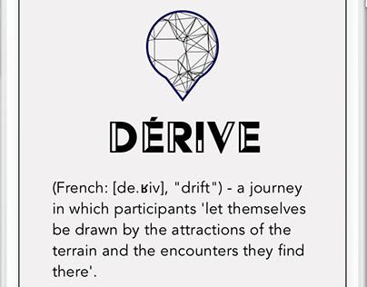 derivé - tourism and travel mobile application