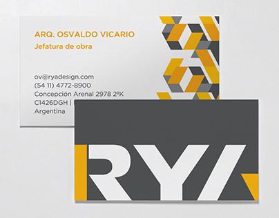 RYA - Identity design
