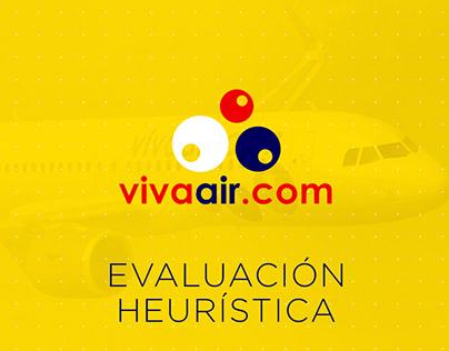 Evaluación heurística VivaAir