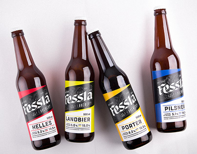 Fessla Brewery. Beer packaging.